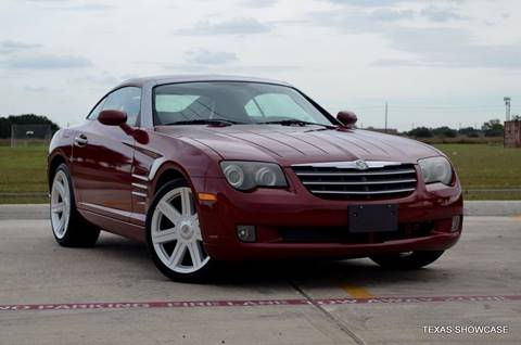 2005 Chrysler Crossfire for sale at TEXAS SHOWCASE in Houston TX