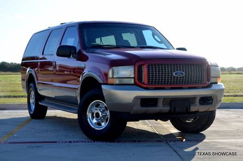 2004 Ford Excursion for sale at TEXAS SHOWCASE in Houston TX