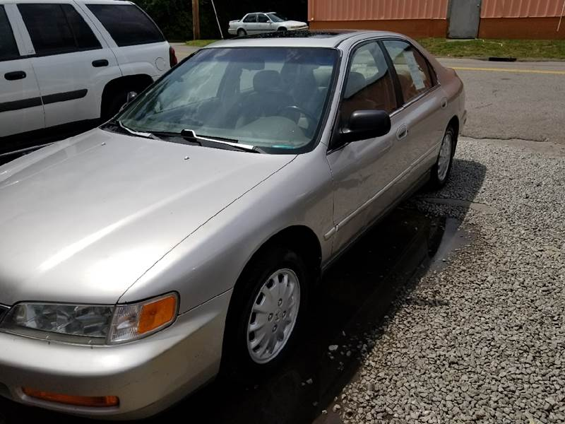 1996 Honda Accord for sale at Discount Motors Inc in Nashville TN