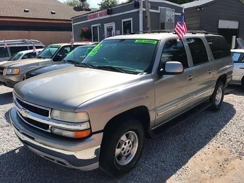 2001 Chevrolet Suburban for sale at Discount Motors Inc in Nashville TN