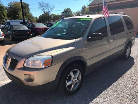 2005 Pontiac Montana SV6 for sale at Discount Motors Inc in Nashville TN