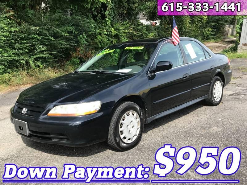 2001 Honda Accord For Sale At Discount Motors Inc In Nashville TN