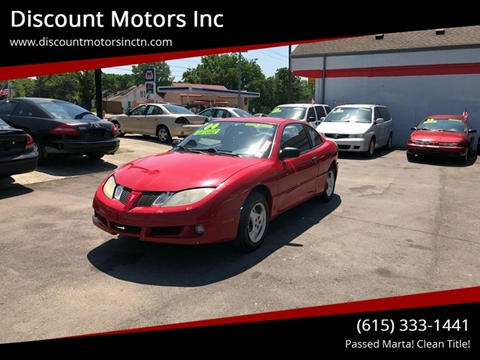 2004 Pontiac Sunfire for sale in Nashville, TN