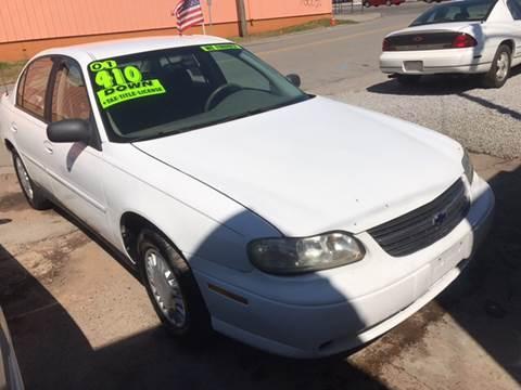 2001 Chevrolet Malibu for sale at Discount Motors Inc in Nashville TN