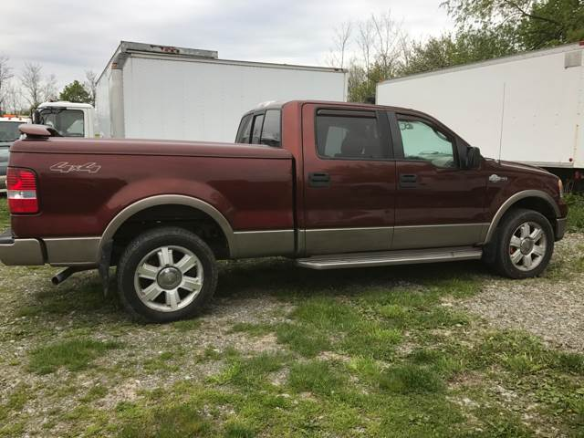 2006 Ford F-150 for sale at CERTIFIED AUTO SALES in Le Roy NY
