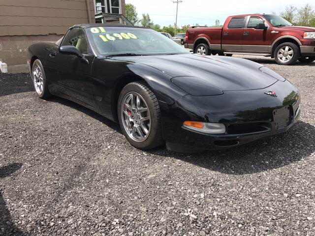 2001 Chevrolet Corvette for sale at CERTIFIED AUTO SALES in Le Roy NY