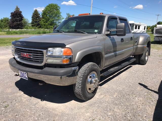 2002 GMC Sierra 3500 for sale at CERTIFIED AUTO SALES in Le Roy NY