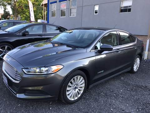 2015 Ford Fusion Hybrid for sale in Le Roy, NY