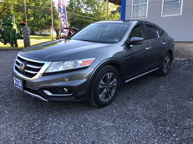 2013 Honda Crosstour for sale at CERTIFIED AUTO SALES in Le Roy NY