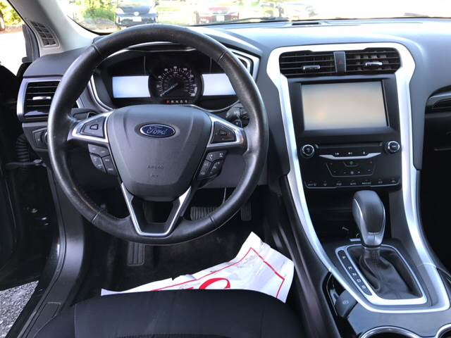 2015 Ford Fusion for sale at CERTIFIED AUTO SALES in Le Roy NY