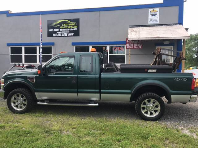 2008 Ford F-350 Super Duty for sale at CERTIFIED AUTO SALES in Le Roy NY