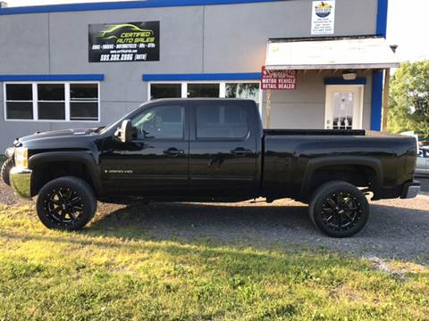 2009 Chevrolet Silverado 2500HD for sale at CERTIFIED AUTO SALES in Le Roy NY