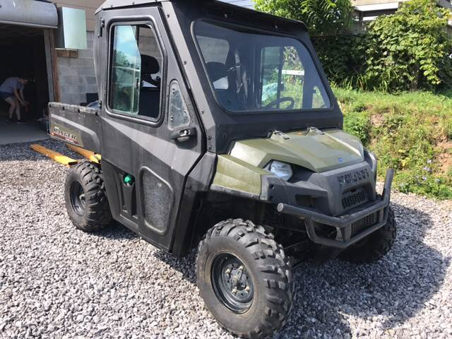 2014 Polaris Ranger for sale at CERTIFIED AUTO SALES in Le Roy NY