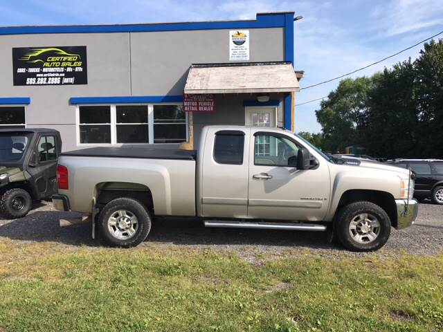 2007 Chevrolet Silverado 2500HD for sale at CERTIFIED AUTO SALES in Le Roy NY