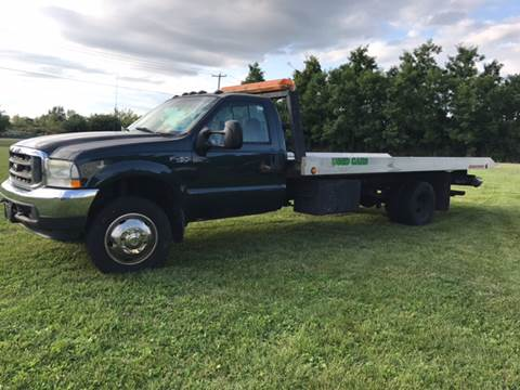 2002 Ford F-450 Super Duty for sale at CERTIFIED AUTO SALES in Le Roy NY