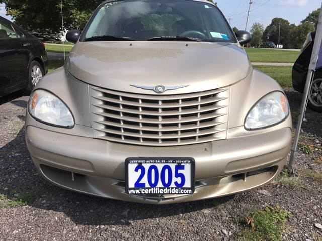 2005 Chrysler PT Cruiser for sale at CERTIFIED AUTO SALES in Le Roy NY