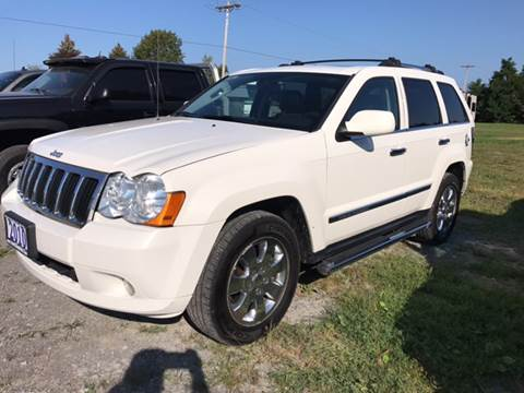 2010 Jeep Grand Cherokee for sale at CERTIFIED AUTO SALES in Le Roy NY