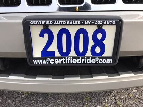 2008 Jeep Grand Cherokee for sale at CERTIFIED AUTO SALES in Le Roy NY