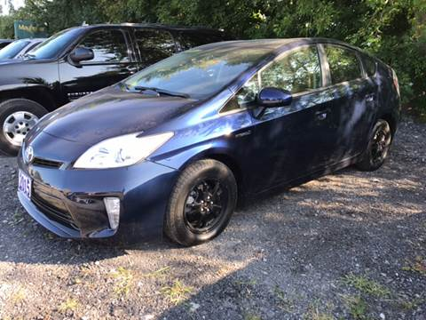 2015 Toyota Prius for sale at CERTIFIED AUTO SALES in Le Roy NY