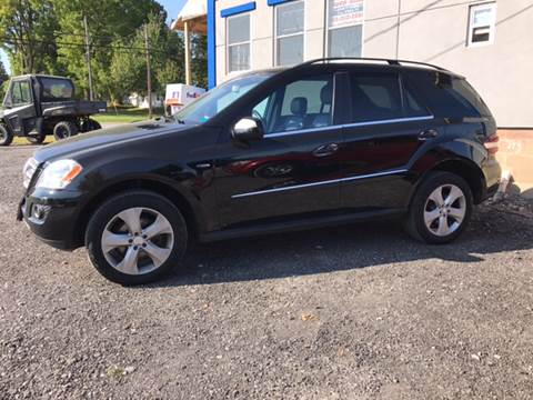 2010 Mercedes-Benz M-Class for sale at CERTIFIED AUTO SALES in Le Roy NY