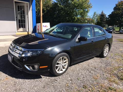 2010 Ford Fusion for sale at CERTIFIED AUTO SALES in Le Roy NY