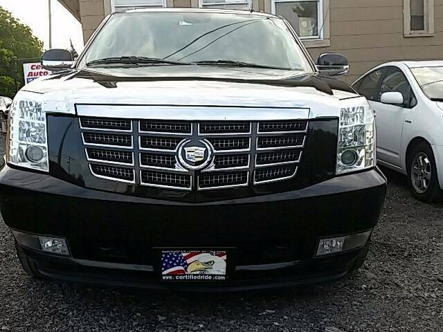 2012 Cadillac Escalade ESV for sale at CERTIFIED AUTO SALES in Le Roy NY