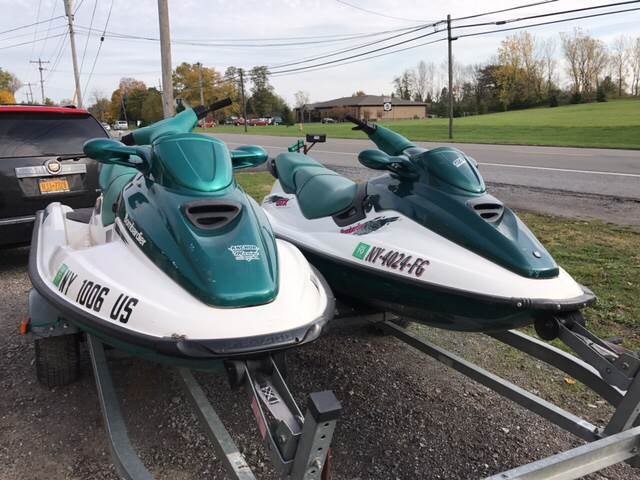 1998 Sea-Doo GTI 130 for sale at CERTIFIED AUTO SALES in Le Roy NY