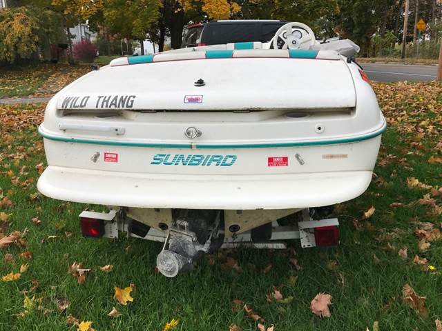 1995 Sunbird Sizzler for sale at CERTIFIED AUTO SALES in Le Roy NY