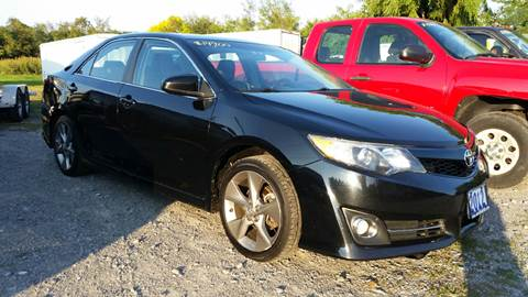 2013 Toyota Camry for sale at CERTIFIED AUTO SALES in Le Roy NY