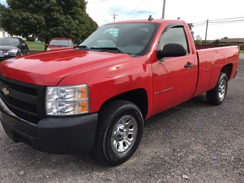2008 Chevrolet Silverado 1500 for sale at CERTIFIED AUTO SALES in Le Roy NY