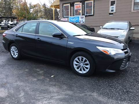 2015 Toyota Camry Hybrid for sale at CERTIFIED AUTO SALES in Le Roy NY