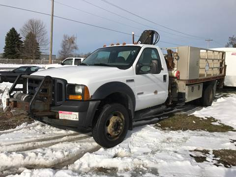 2006 Ford F-550 for sale at CERTIFIED AUTO SALES in Le Roy NY