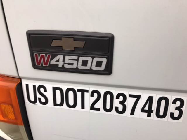 2001 Chevrolet wb 4500 for sale at CERTIFIED AUTO SALES in Le Roy NY