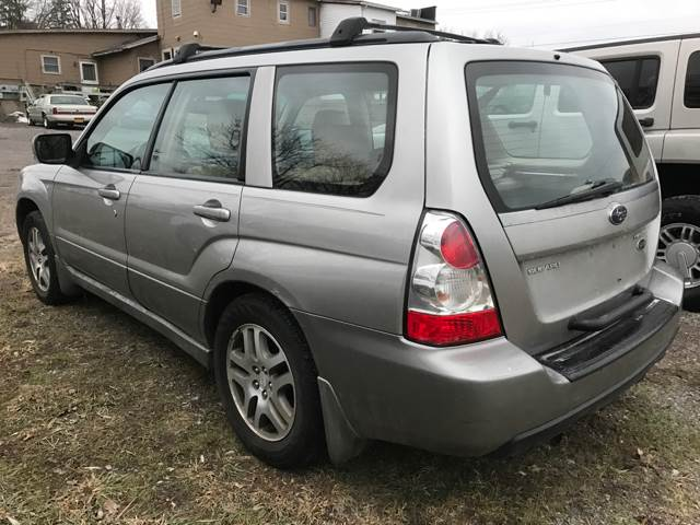 2006 Subaru Forester for sale at CERTIFIED AUTO SALES in Le Roy NY