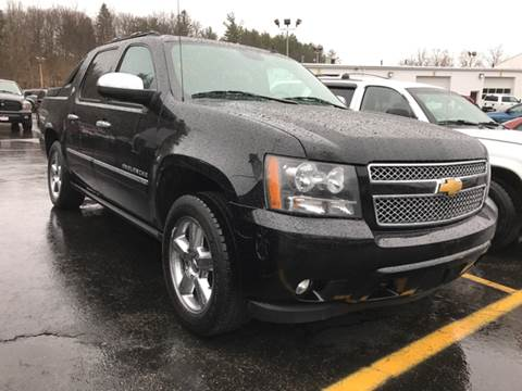 2013 Chevrolet Black Diamond Avalanche for sale at CERTIFIED AUTO SALES in Le Roy NY