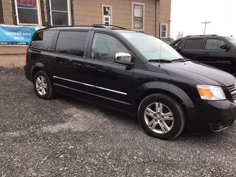 2008 Dodge Grand Caravan for sale at CERTIFIED AUTO SALES in Le Roy NY