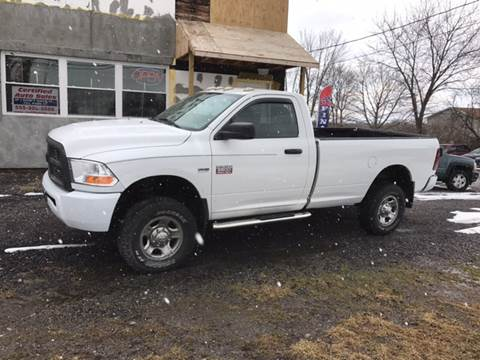 2010 Dodge Ram Pickup 2500 for sale at CERTIFIED AUTO SALES in Le Roy NY