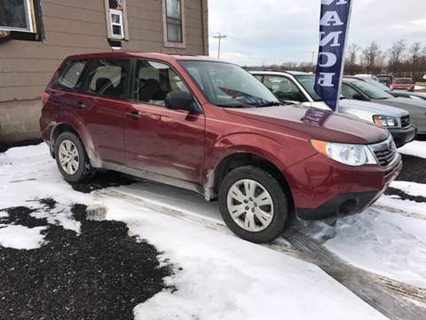 2009 Subaru Forester for sale at CERTIFIED AUTO SALES in Le Roy NY