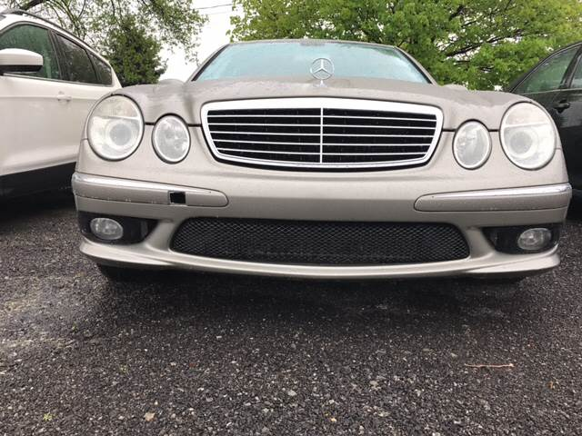 2003 Mercedes-Benz E-Class for sale at CERTIFIED AUTO SALES in Le Roy NY