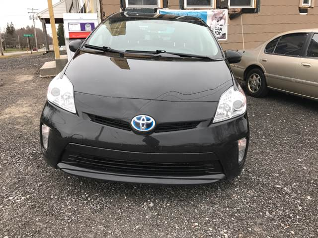 2013 Toyota Prius for sale at CERTIFIED AUTO SALES in Le Roy NY