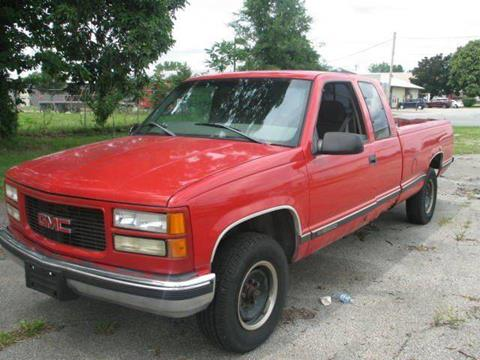 1998 GMC Sierra 2500 for sale in Elkhart, IN