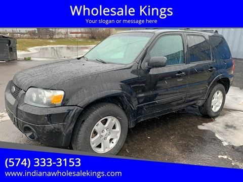 2007 Ford Escape for sale at Wholesale Kings in Elkhart IN