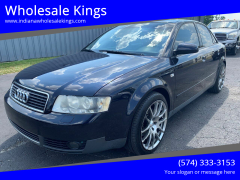 2003 Audi A4 for sale at Wholesale Kings in Elkhart IN