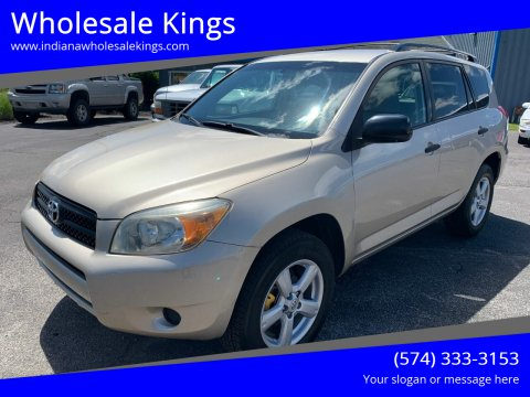 2008 Toyota RAV4 for sale at Wholesale Kings in Elkhart IN
