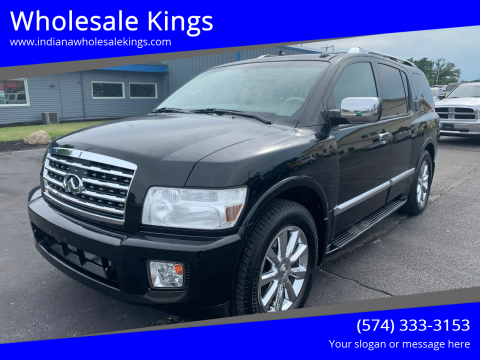 2008 Infiniti QX56 for sale at Wholesale Kings in Elkhart IN