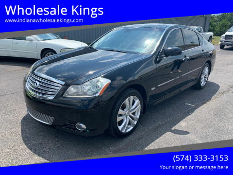 2009 Infiniti M35 for sale at Wholesale Kings in Elkhart IN