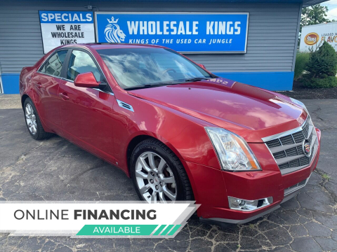 2009 Cadillac CTS for sale at Wholesale Kings in Elkhart IN