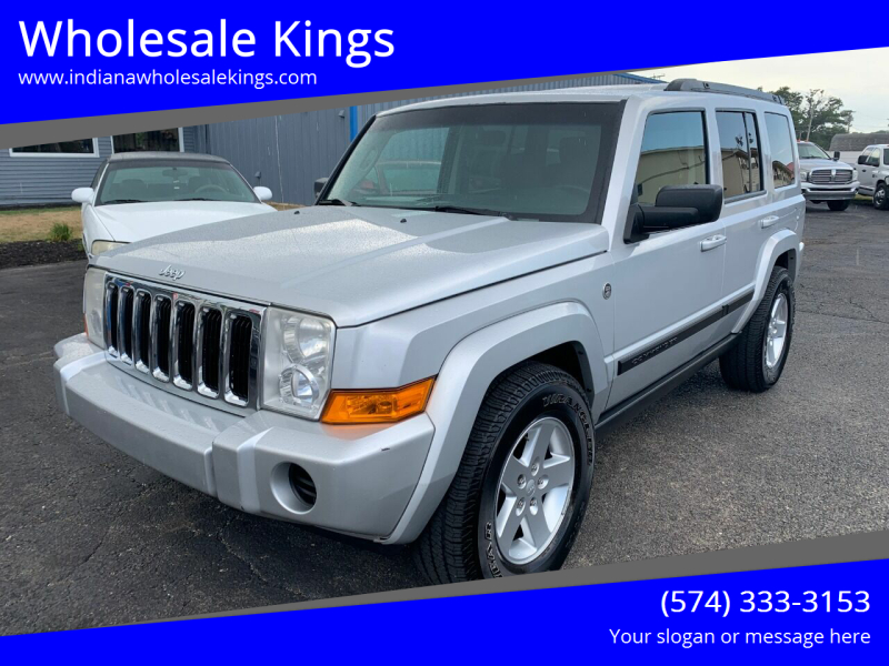 2007 Jeep Commander for sale at Wholesale Kings in Elkhart IN