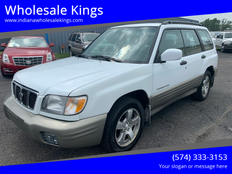 2001 Subaru Forester for sale at Wholesale Kings in Elkhart IN