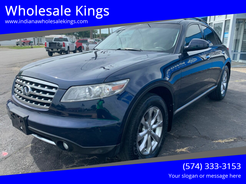 2007 Infiniti FX35 for sale at Wholesale Kings in Elkhart IN